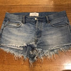 Free People we the free denim shorts
